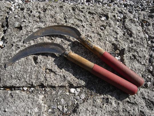 農具3:ノコギリ鎌